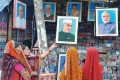 <b>Allahabad's son forever</b> A Nehru poster still fronts a poster shop in the city
