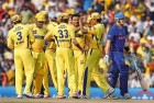 The CSK at one of their home games