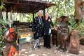 <b>Pen and ink</b> Sudhir Kakar and Katharina at their Goa home