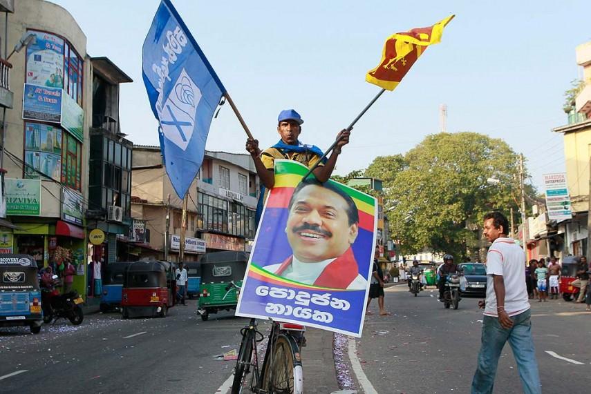 Rajapaksa's Relative, a Former Lankan Diplomat, Arrested on Corruption Charges