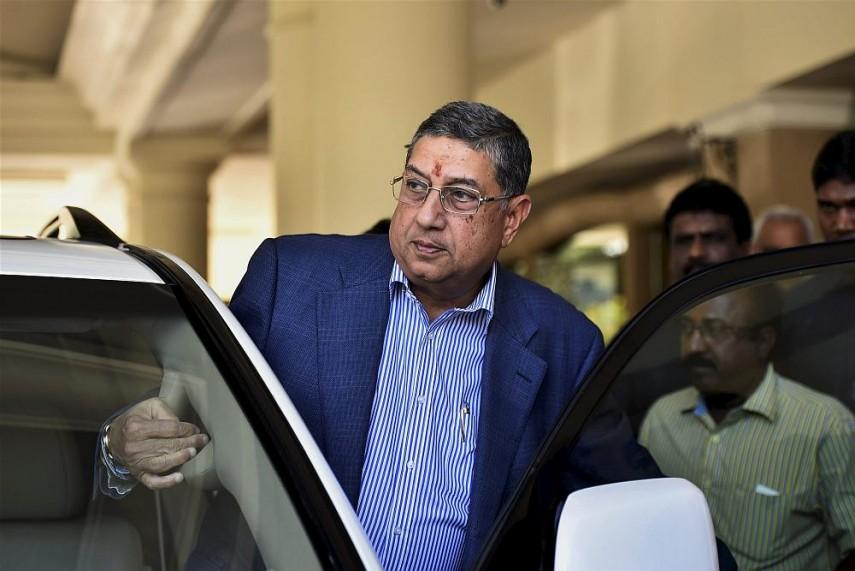 Srinivasan Eligible For ICC Chair's Post