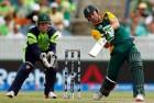 <B>World's best</b> De Villiers on the rampage