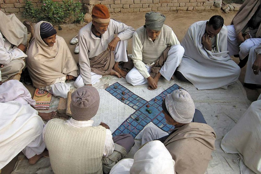 As Pawns Circle Knights
