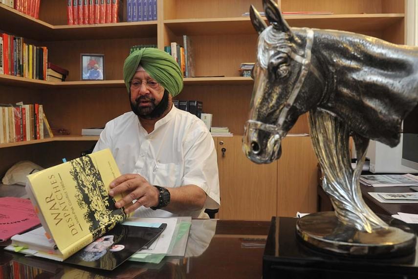 Sukhbir Playing Politics By Seeking Bharat Ratna for Bhagat Singh: Amarinder