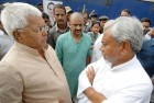 <b>Measuring up</b> Friends again Laloo & Nitish