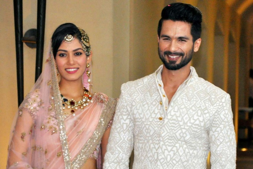 Outlook India Photogallery Shahid Weds Mira