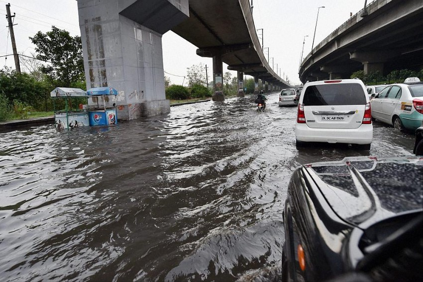 Rhapsodizing Rains And The Over-Flowing Drains