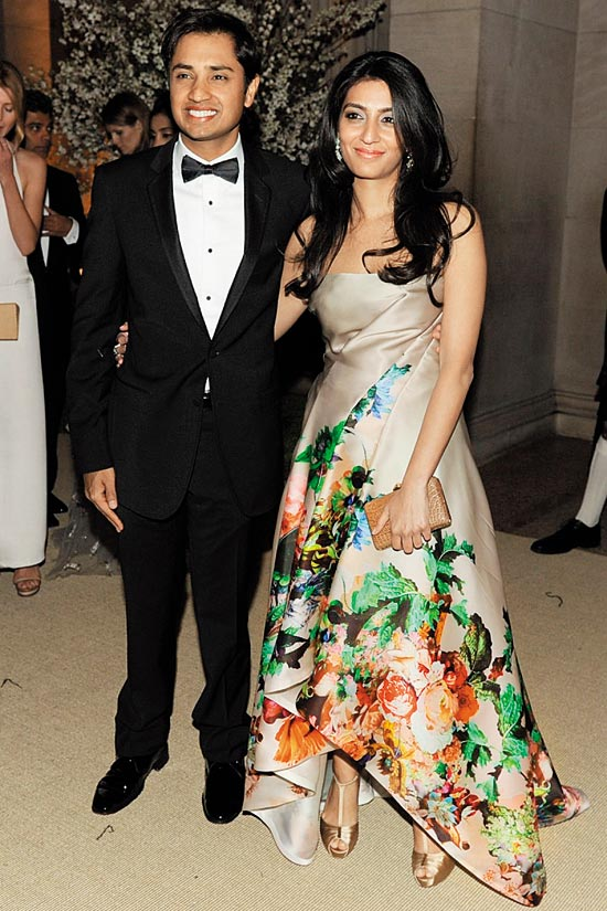 Outlook Photogallery United By Steel Aditya Mittal Provenance Known Wharton Graduate And His Wife Megha Also Of Md Luxury Brand Escada