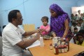 <b>Kind Hearts:</b> A toddler gets medical attention thanks to Chinappan's efforts