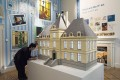 <b>Marlinspike Hall</b> A model of the iconic  house, made of 6,000 tiles