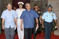 <b>Systems Overhaul</b> Defence ­min­­i­­­ster Parrikar with service chiefs