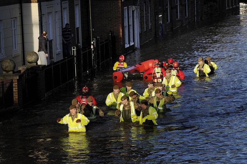 Behind Britain's Floods