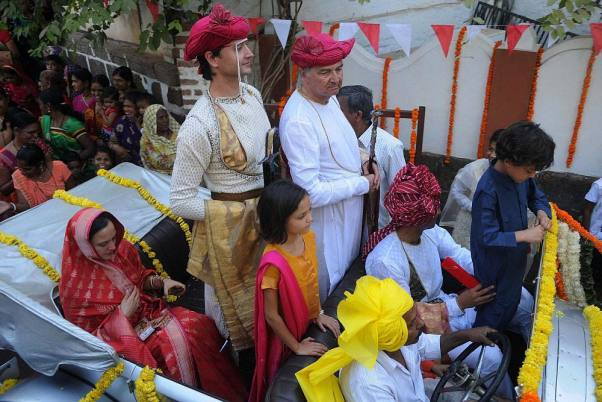 Outlook Photo Gallery : Holkar dynasty prince Shivaji Rao's