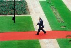 <b>Welcome Mat</b> Doval at Hyderabad House during Shinzo Abe's visit