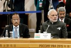 <b>Crack Team</b> Modi and Doval at the SCO in Ufa, Russia
