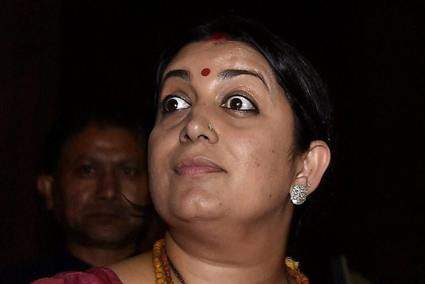 From 'Orator' To 'Liar', Irani Has Come A Long Way In 24 Hrs