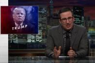 #MakeDonaldDrumpfAgain: John Oliver Takes On Trump