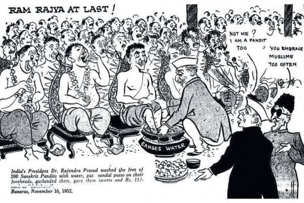 ambedkar cartoon 20160418 402 602 अम्बेडकर: यह चुप्पी की साजिश है