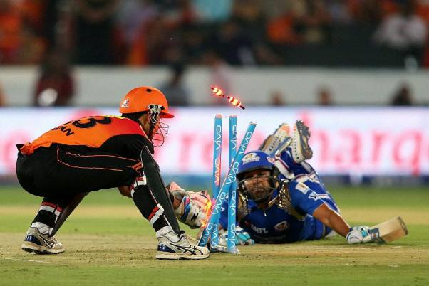Image result for rohit sharma ipl runout