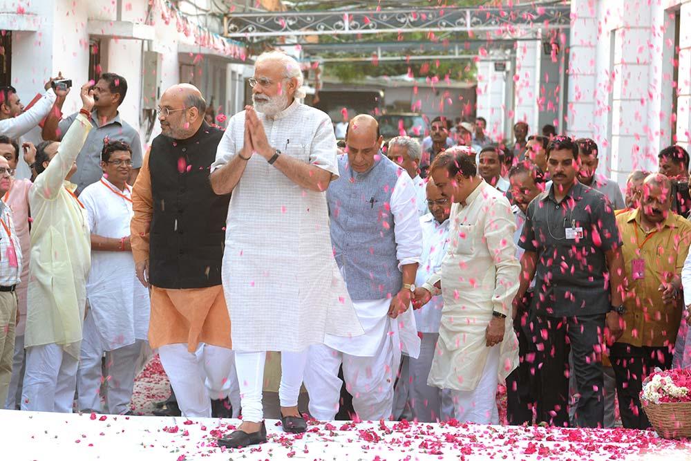 How Modi Got His May Back