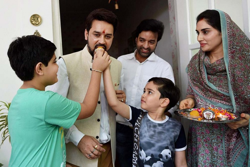 BJP MP & BCCI Chief Anurag Thakur to Join Territorial Army
