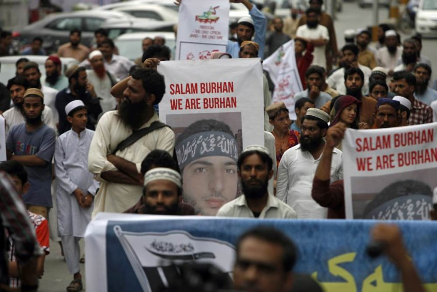 Among Kashmiris In Delhi, Wani Will Remain A Hero