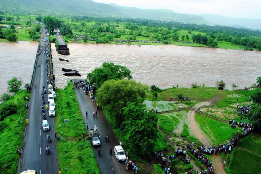 Mahad Bridge Washed Away In Bountiful Monsoon