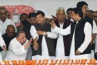 I Am Still Party Chief, Asserts Mulayam, Brushes Aside Son Akhilesh's Appointment As Prez