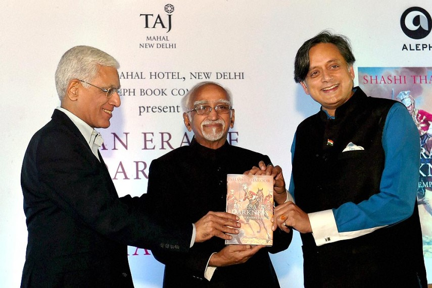British Reduced India to One of the Poorest Countries: Tharoor