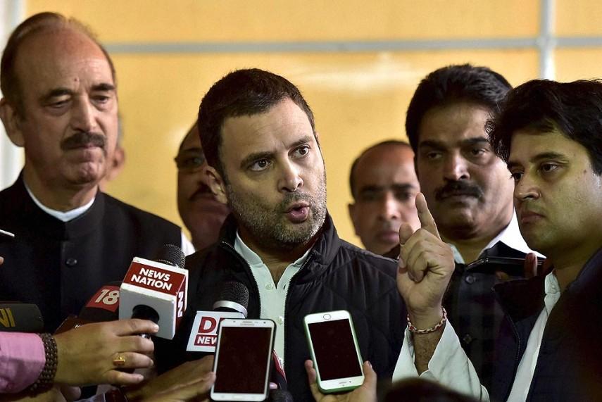 Demonetisation a Foolish Decision, Devastated Country: Rahul