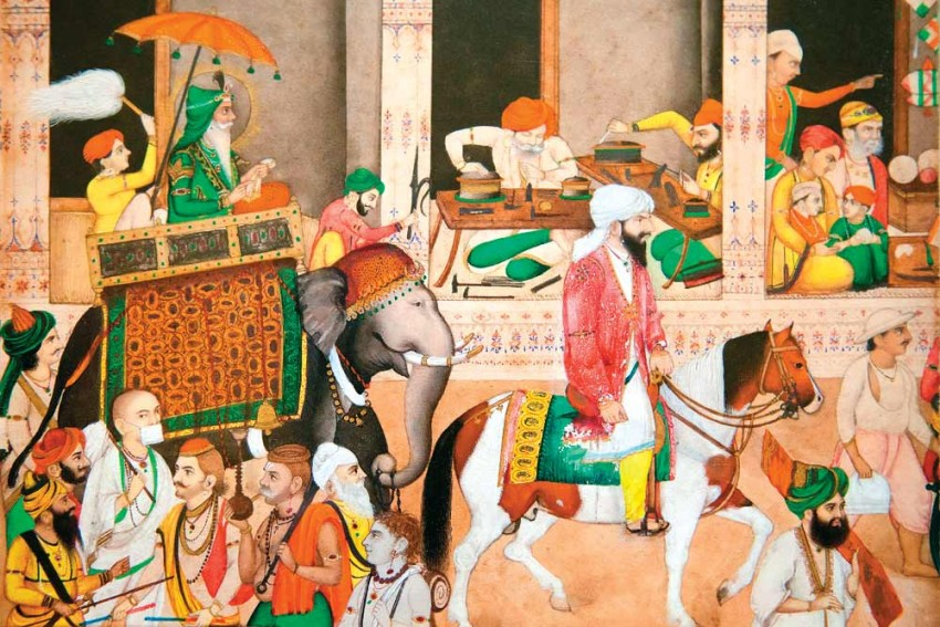 Ranjit Singh's Rock Of Power