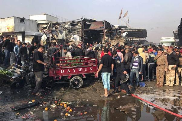 Iraq Market Blast Kills 30 Ahead of Eid-Al-Adha