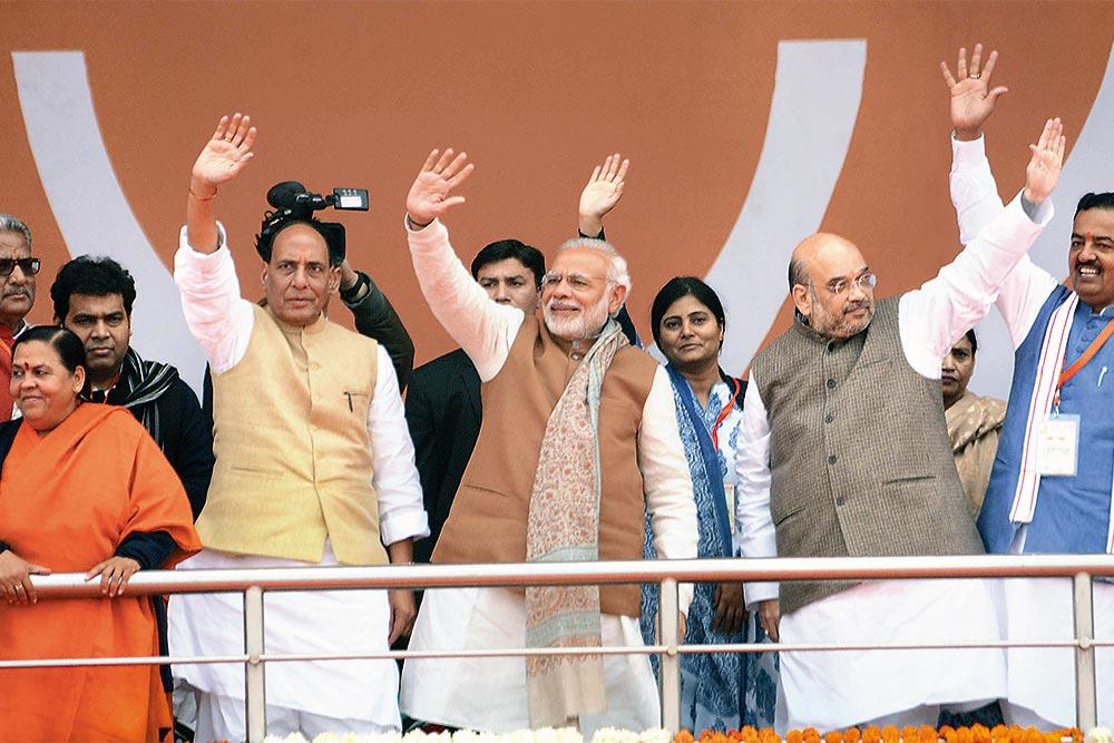 Saffron Rides 'Cashless' Into Caste-Cow Land