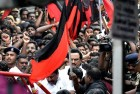 DMK's Stalin, Cadres Sit on Fast to Condemn 'Murder of Democracy'
