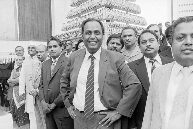 Dhirubhai Ambani (1932-2002) Reliance