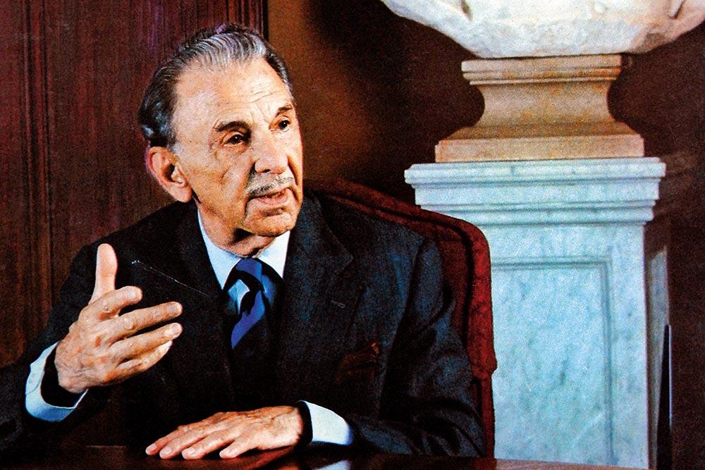 J.R.D. Tata (1904-1993) Tata Group