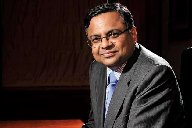 Natarajan Chandrasekaran, Tata Consultancy Services
