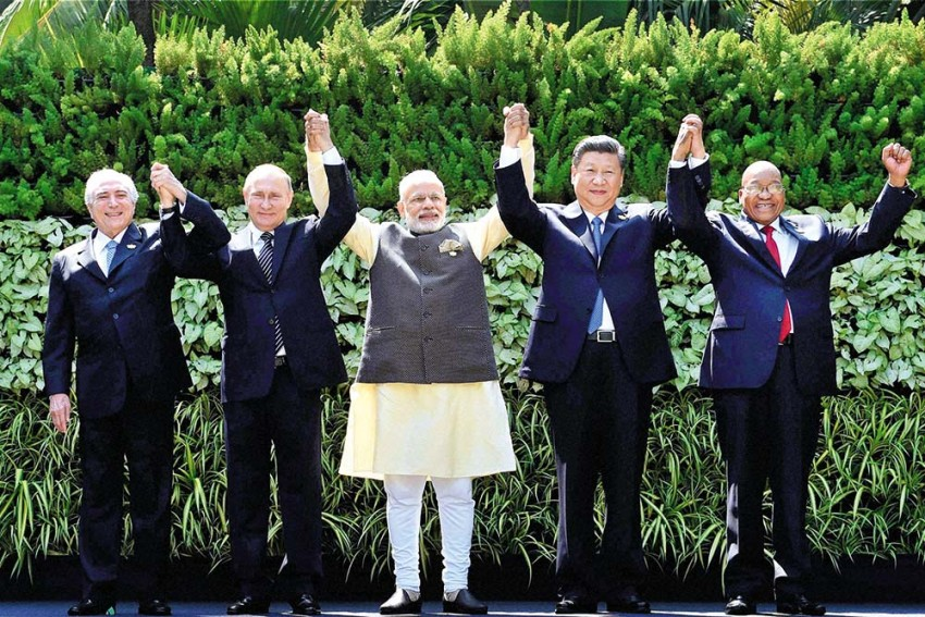 Laying BRICS On China Road
