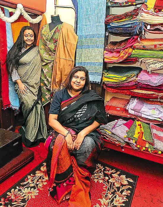 Shubha Mitra and Punam Mullick