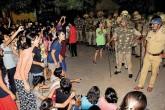 Benaras Barricade Bhu