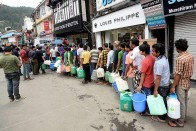 Water Crunch In Shimla For 15 Days As Floods Raise Silt In Rivers