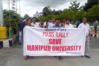 Wiped Out Whiteboards: Protests Against Manipur University VC Spiral Out Of Control