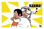 No-confidence motion: Rahul hugs Modi