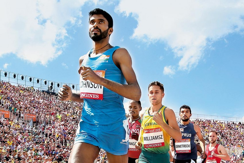 Jinson Johnson: Asia's Top-Ranked 800m Runner