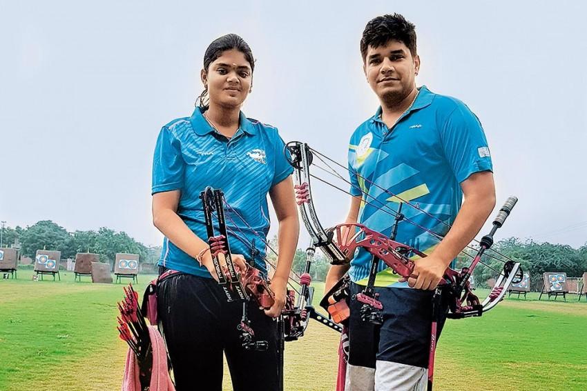 Jyothi Surekha, Abhishek Verma: The 'Brother-Sister' Pair Hit Bulls Eye