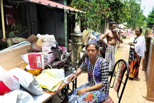 Athira M.S., 23, Intern, Irrigation dept. & A Coordinator, Relief Camp, Town Hall, Changanassery