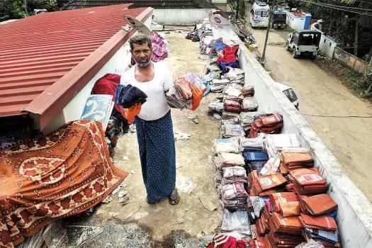 Shamshuddin M., 48, Bismi Textiles, readymade shop, Chennathanadu, Chalakudy