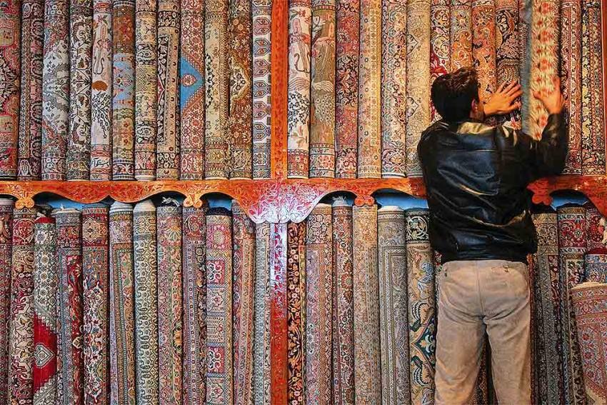 Kashmir Carpet In Gordian Knot