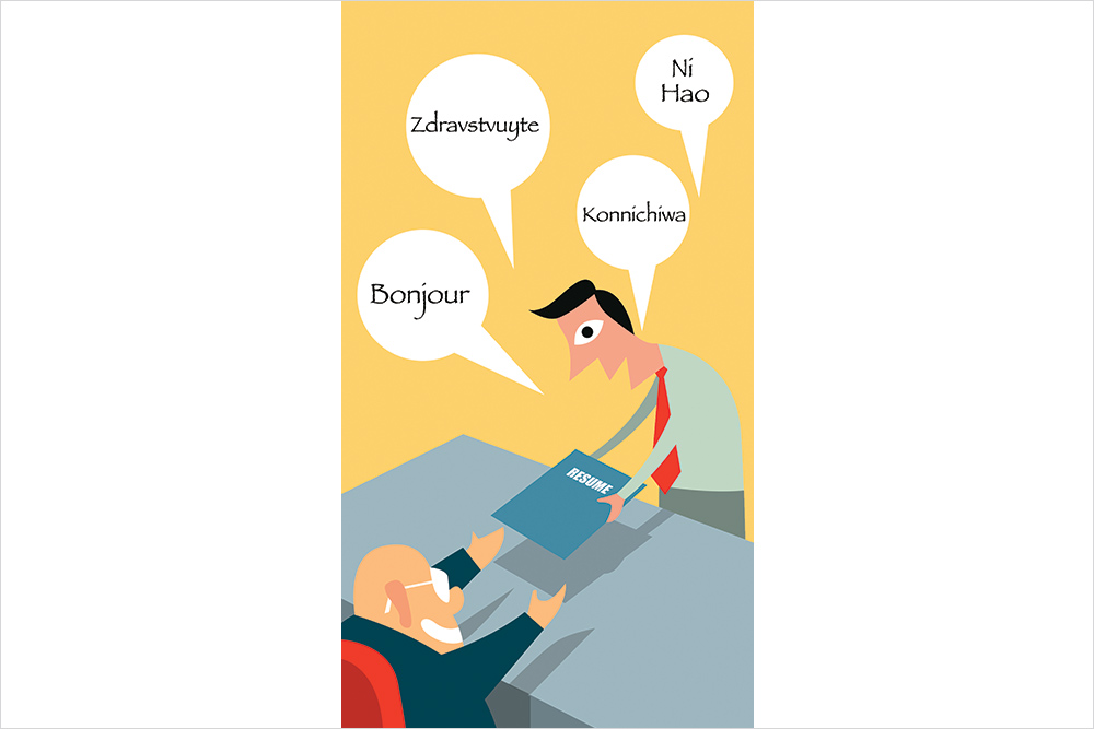 Not Just MBA Degree, Multiple Languages Can Help You Get A Better Job