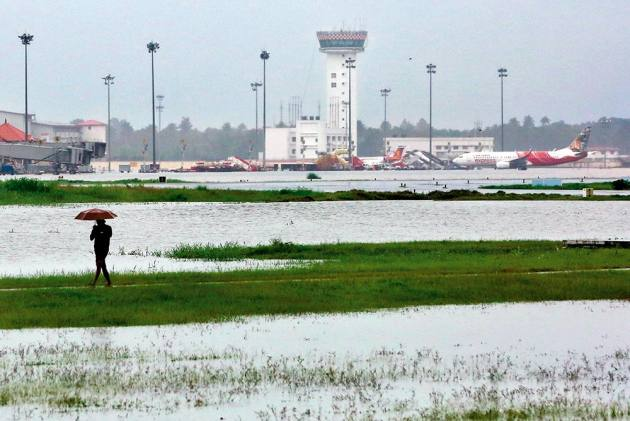 Runaway River On Kochi's Flight Path